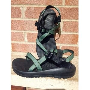 Chaco Z/ 1 Women's Green Sandals Size 10
